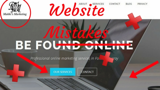 Does Your Business Website Need Work? 5 Mistakes You Need to Fix