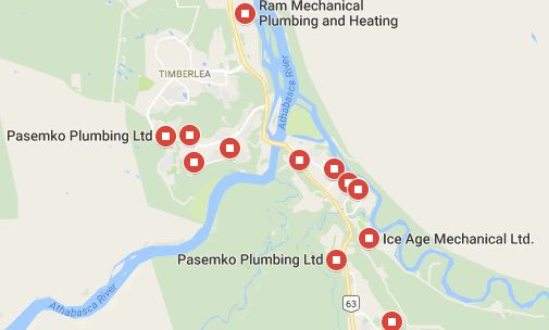 plumbers fort mcmurray google search