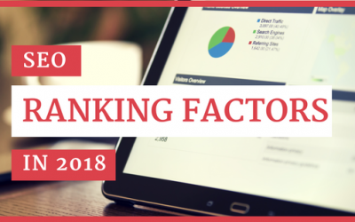 SEO Ranking Factors in 2018